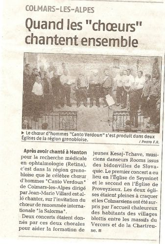 Article Grenoble