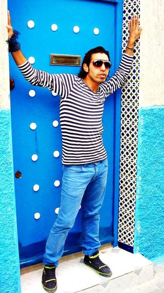 """""""Life in Blue"""" part two, Said Ben Allal, top model marocain"""