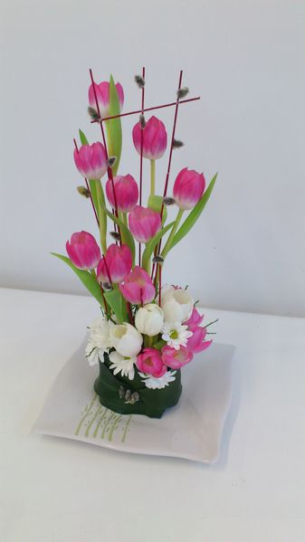 Top Composition florale de printemps! Tulipe, tulipe, tulipe!!! - Le  LZ51