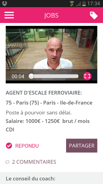 Big Central - Annonce Agent d'escale