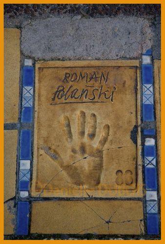 Cannes mains Roman Polanski