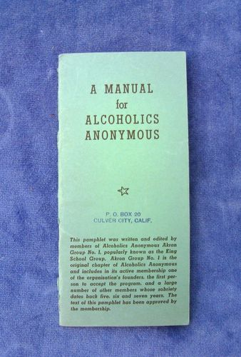 HISTOIRE 174a manual for alcoholics anonymous