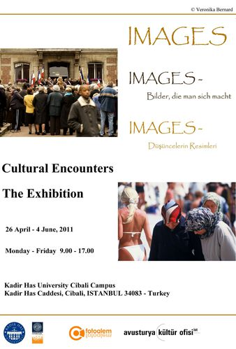 cultural encounters exhibiiton poster istanbul