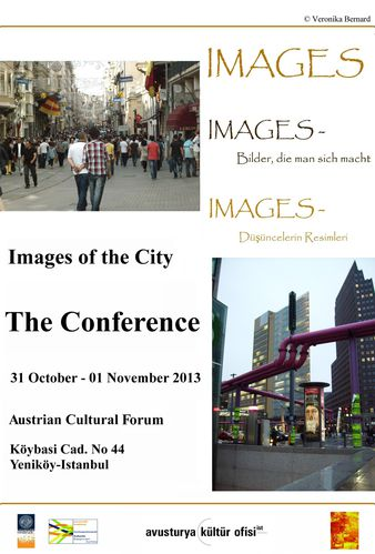 images of the city conference poster - A3