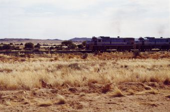 Fish river - train