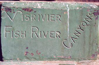 Fish river - panneau bis
