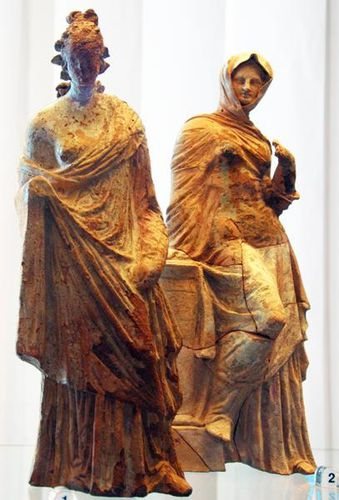 548i Paestum, terres cuites, fin 4e-début 3e s. avt J.-C