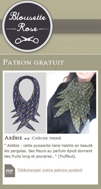 blousette freescarf