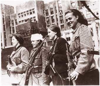 (Minsk) femmes antifascistes guérilleras