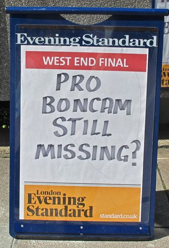 Londres Hayward Headlines Boncam