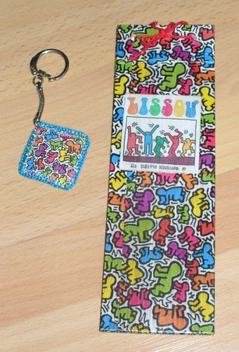 porte clef keith harring