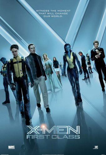 X-Men : First Class poster