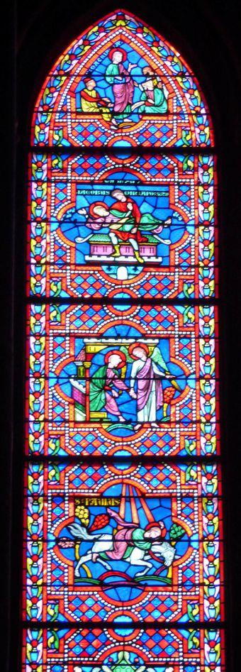 Vitrail cathédrale de Bayonne