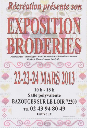 expo Bazouges Mars 2013