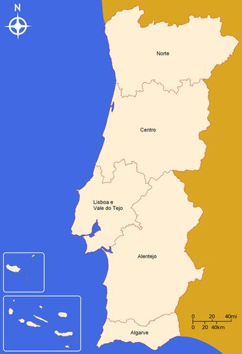11 regions portugal