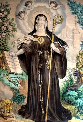 Saint Gertrude of Helfta