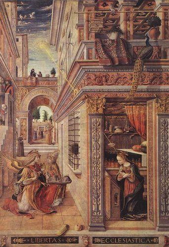 Crivelli Carlo 1486 Annociation