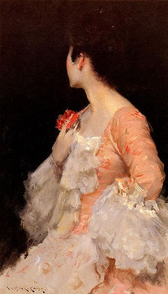 342px-Chase William Merritt Portrait Of A Lady 1890