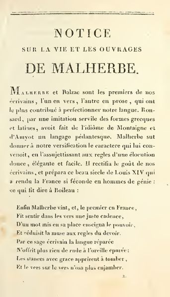 Malherbe 1