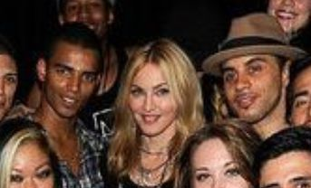 Madonna with French dancer Brahim Zaïbat