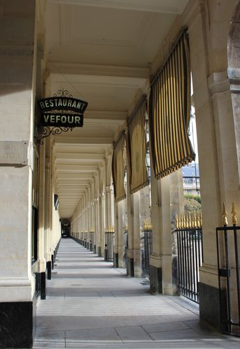 Palais Royal Grand Véfour Paris