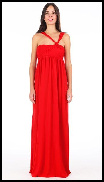 Robe longue rouge Miss Sixty Monshowroom