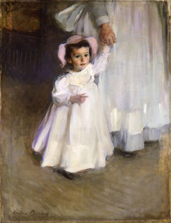 Cécilia Beaux, Ernesta, child with nurse