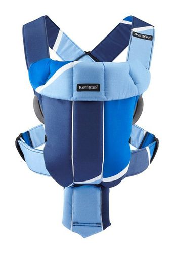 BabyBjorn Carrier Original Dark Blue Light Blue