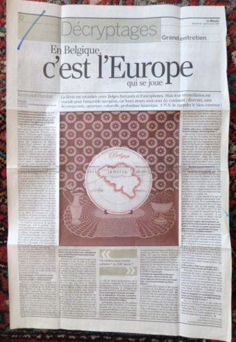 Le Monde, Article