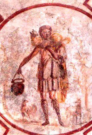 Bon Pasteur Catacombe Saint Calixte