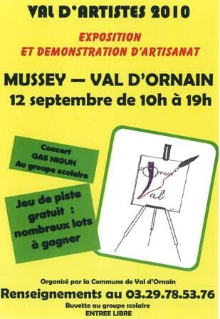 Affiche Mussey