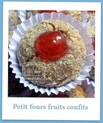 petit fours fruits confi
