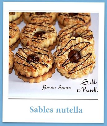 sables nutella