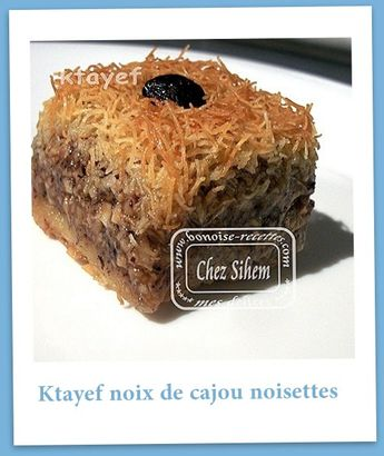ktayef noisettes