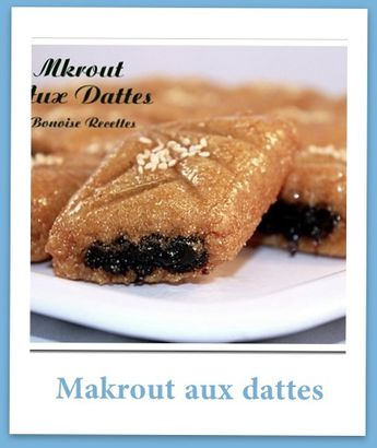 makrout frit aux dattes