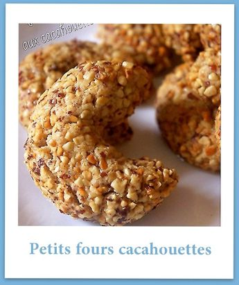 petits fours cacahuettes