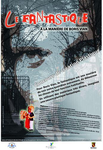 Affiche concours création plastique 2010
