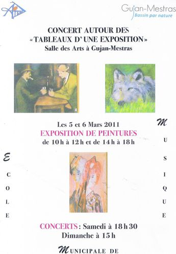 affiche expo huile mars 2011