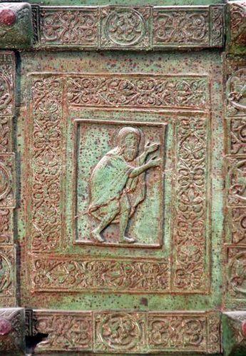 630d2 Porte ancienne de la cathédrale de Trani