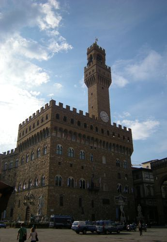 Florence piazza della signoria mus e des offices le - Musee des offices florence reservation ...