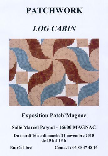 Affiche expo Magnac 2010