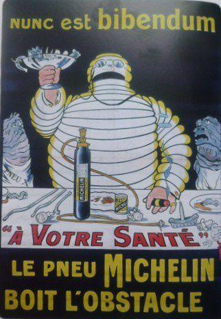 Michelin, O-Galop, affiche publicitaire