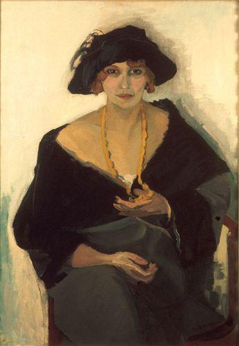 2 -- 1903 Kees Van Dongen Portrait d'une femme