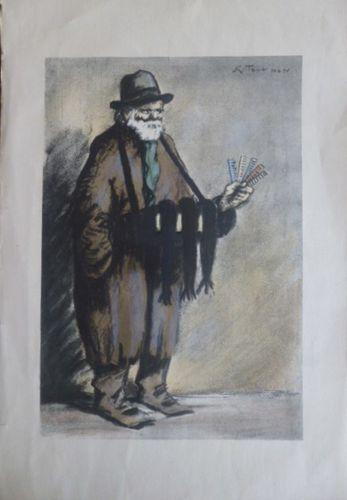 Fludiose-Le Viel-Homme-aux-Peignes-Georges-Tournon