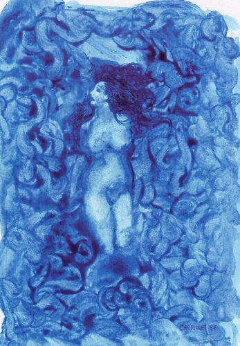 Mademoiselle Bleue