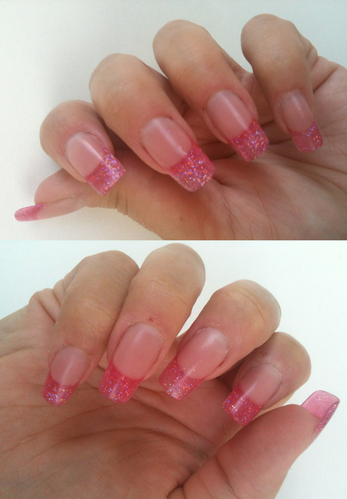french-resine-rose-paillete 7429