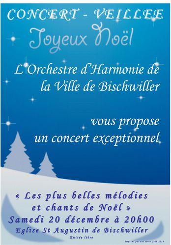 Affiche A3 noel 2014 harmonie