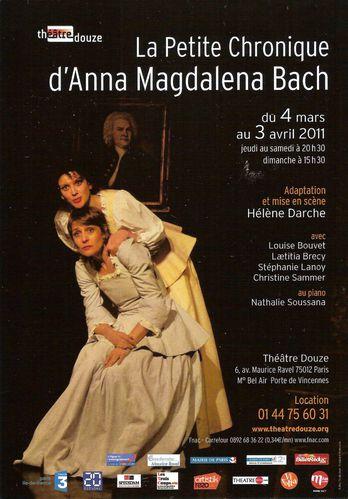 La Petite Chronique d Anna Magdalena Bach