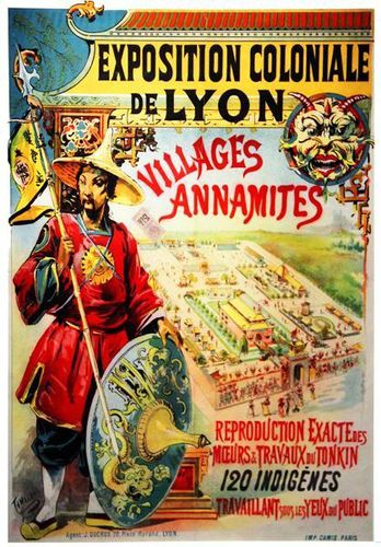 792g1 Villages annamites à Lyon (1894)