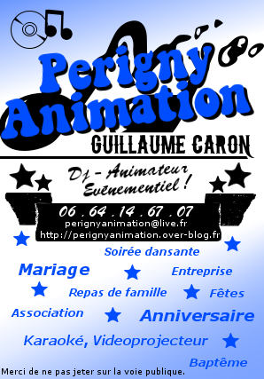 Flyer Guillaume Caron